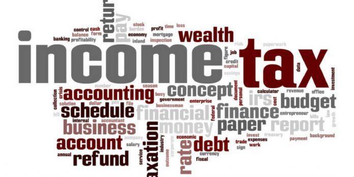 Income Tax on Salaries Budget