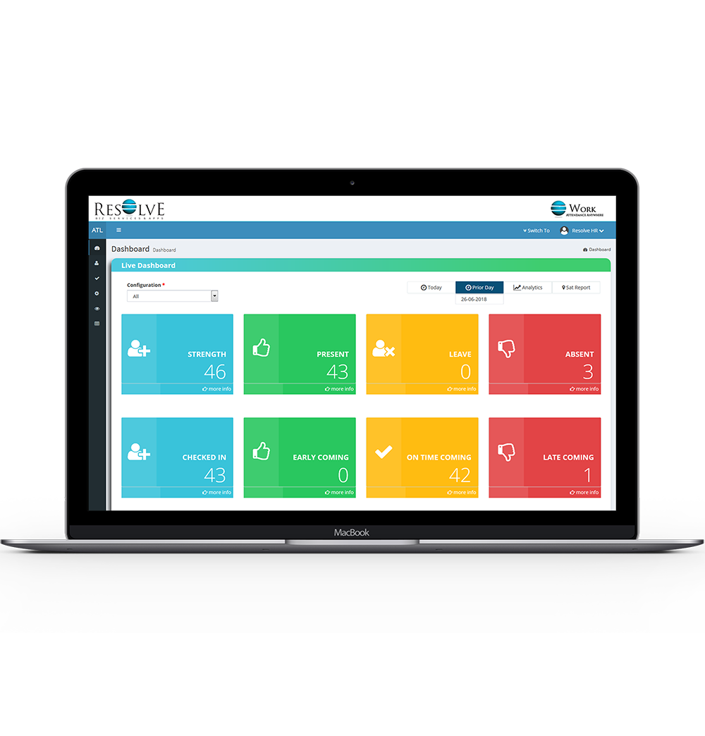 Attendance Management System Dashboard